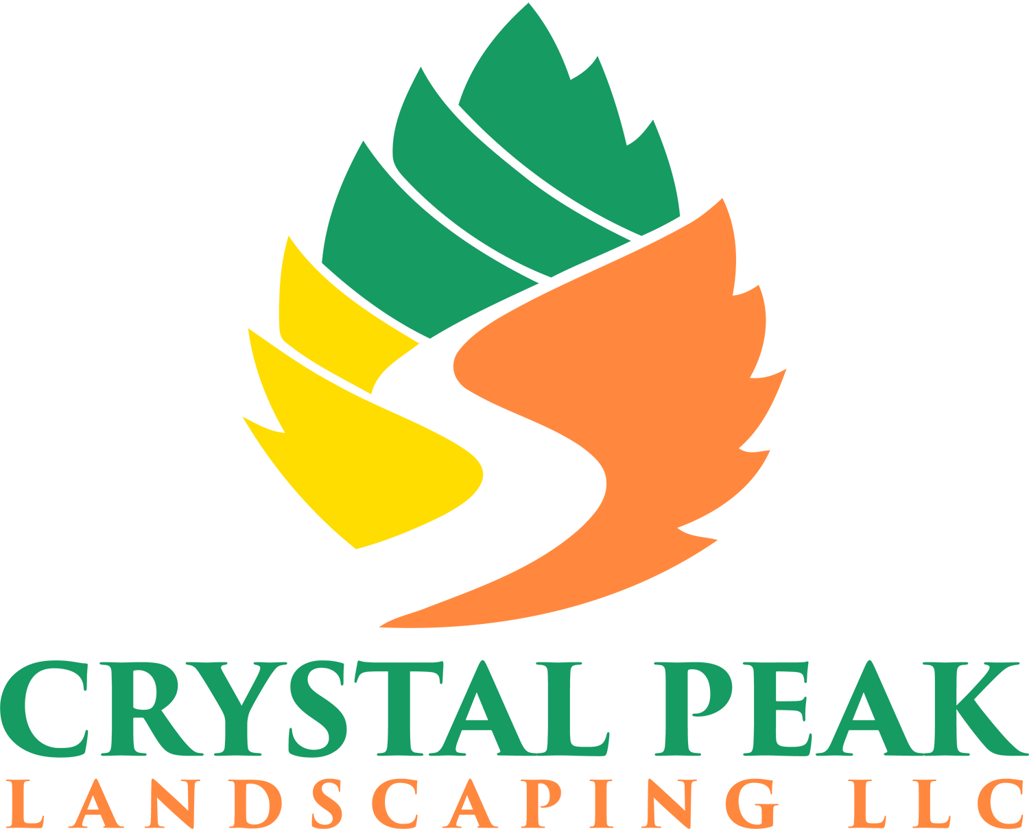 Crystal Peak Landscaping Logo
